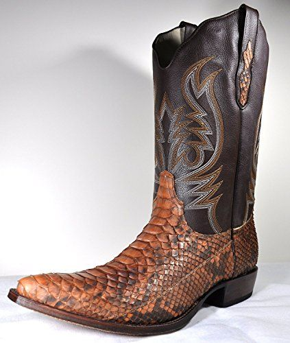 tony mora herren cowboystiefel cowboy boots python mate. Black Bedroom Furniture Sets. Home Design Ideas