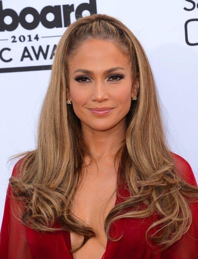 J. Lo y su melena en los premios Billboard #hairstyle