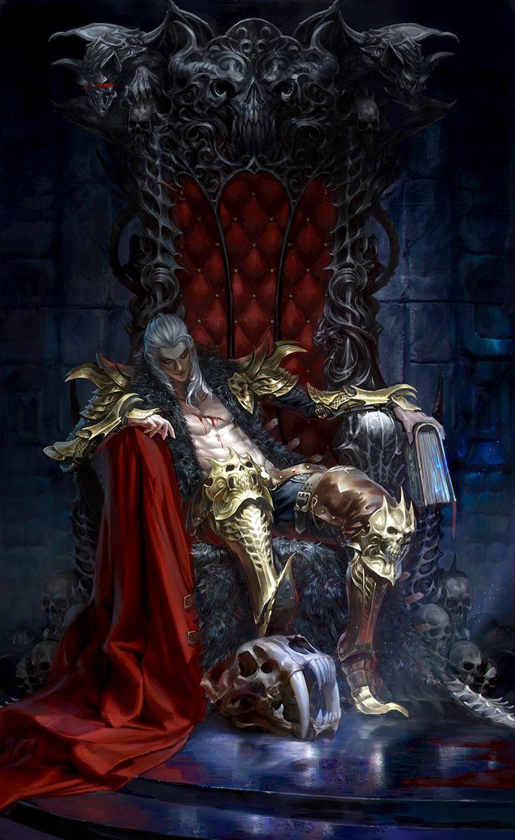 Vampiro Throne
