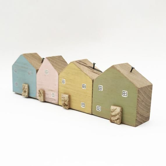 Wooden Houses Decor House Ornament New Home Gifts Etsy House Ornaments New Home Gifts Home Gifts