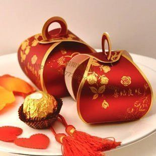 Chinese wedding favours box