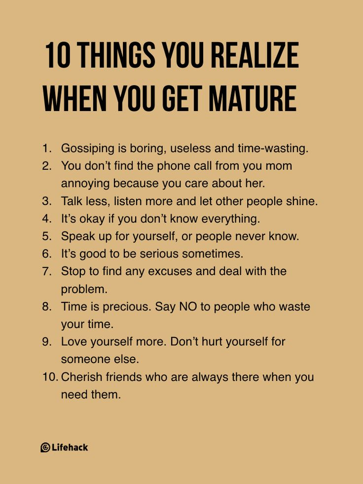 Someone Asks What Maturity Truly Means, And Her Answers Are Incredible