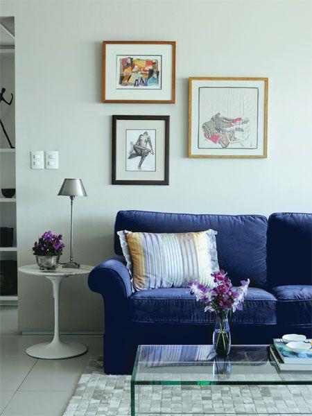 Apartamento possui decoração eclética que foge dos padrões - Casa
