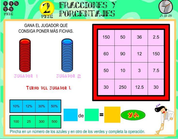 Mejores 19 imágenes de porcentajes 3 eso en Pinterest Colegios - new tabla periodica en memorama