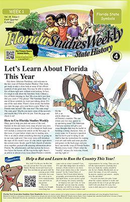 Florida Studies Weekly - State History | Social studies ...