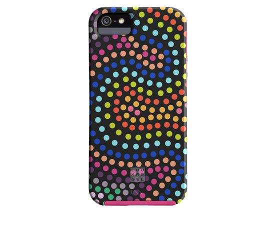 iPhone 5 Tough Case Case-Mate Custom Lou Kregel - Electric Swirl Black