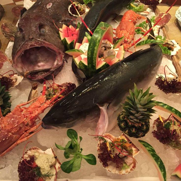 Fischbuffet am Aschermittwoch