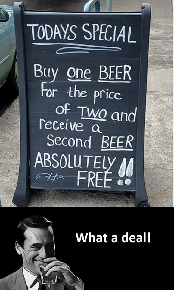 Buy one beer for the price of two. | Funny pictures, best quotes, funny memes pictures and jokes - FunnyKey.com /><meta name=