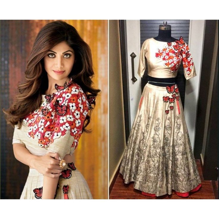 New Arrival Cream Color Banglory Silk Heavy Embroidery Work Shilpa Lehengacholi at just Rs.1890/- on www.vendorvilla.com. Cash on Delivery, Easy Returns, Lowest Price.