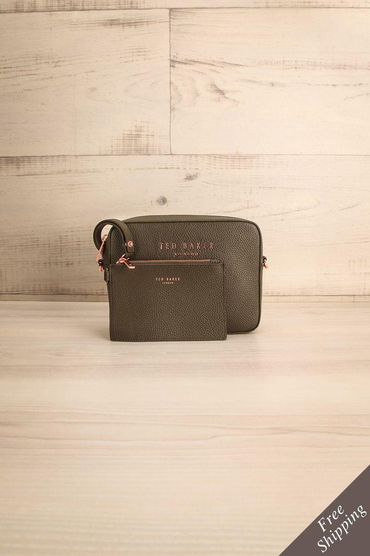 Susi Khaki #lapetitegarconne #tedbaker #clutch #handbag #bovineleather