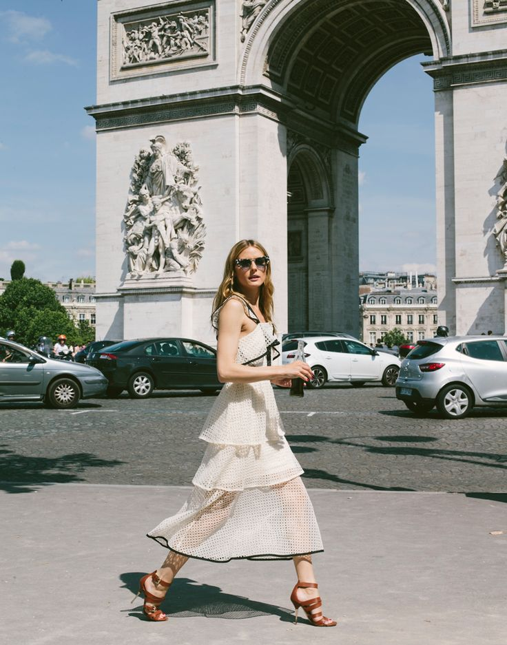 The contrast flounced midi-dress from Self-Portrait seen here on Olivia is easily one of the most versatile dresses one could own for the any…
