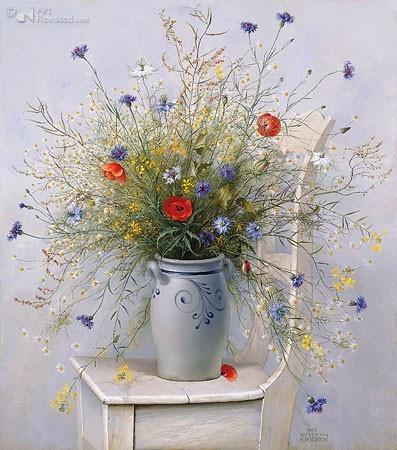 Veldboeket - Patrick Creyghton - 50x55 cm