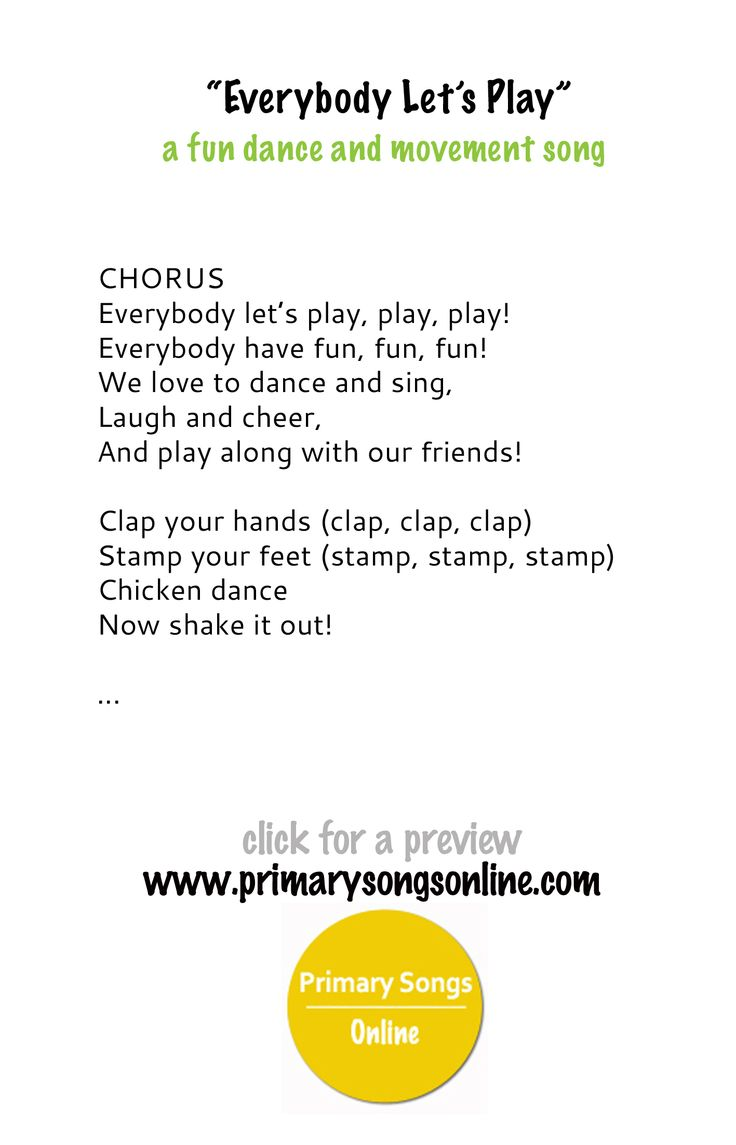 A fun dance and movement song for children. Assembly ideas, concert songs, children's music.