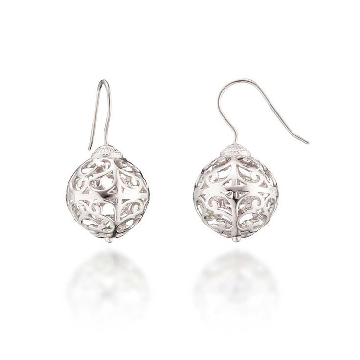 15mm Silver Rhodium Plated Engelsrufer Earrings R1699