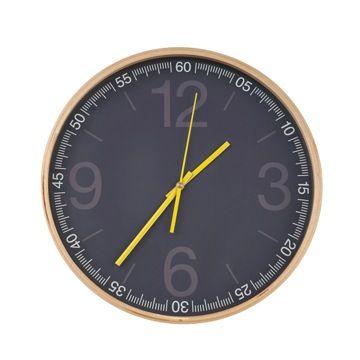 reloj marco madera para CasaIdeas