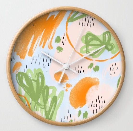 Koi clock