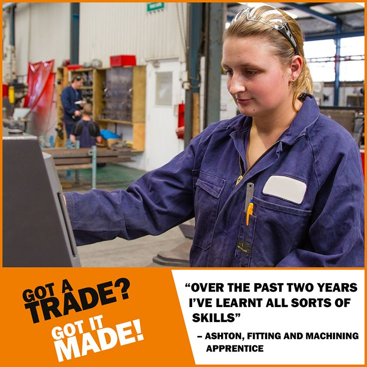 With a career in the #trades and #services industry, you never stop learning. Find out more at www.gotatrade.co.nz