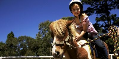 Kids Pony Rides in Centennial Park