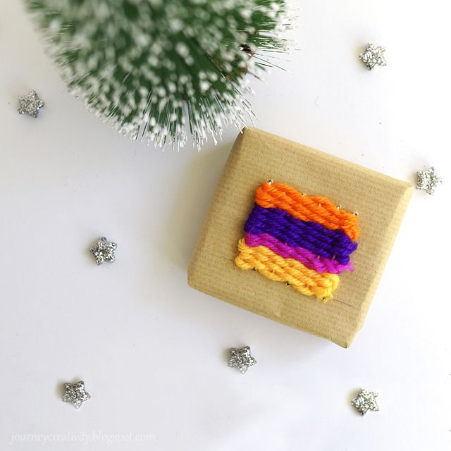 Journey into Creativity: Weaving wrapping
