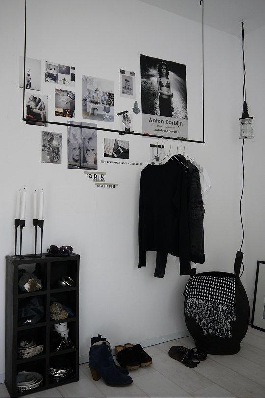 love love love the clothes rack. Paris i soveværelset ‹ Bungalow5