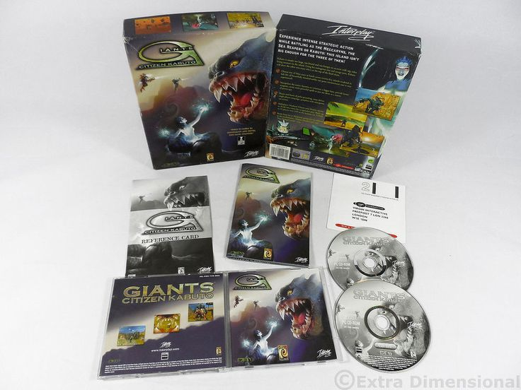 Giants Citizen Kabuto by Interplay Entertainment 2000, Real-Time, Sci-Fi