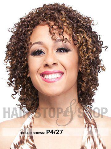 It's a wig - Human Hair Straw Curl Wig