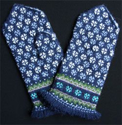 image for Latvian Mittens ... Schoolhouse Press has some nice Latvian and other mitten books