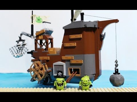 Angry Birds LEGO | ⛴ Piggy Pirate Ship ⛴ Feat. Bomb and Red (75825) video https://youtu.be/OjiSdxpKNys