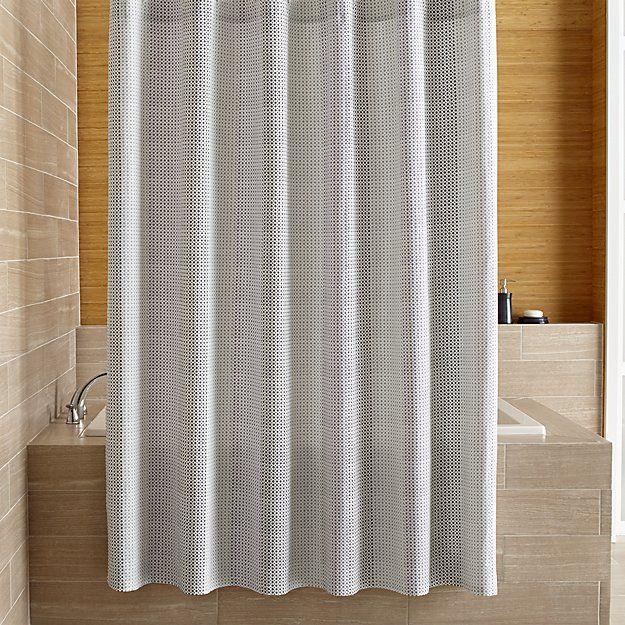 Crate And Barrel Taza Shower Curtain Curtain Menzilperde Net