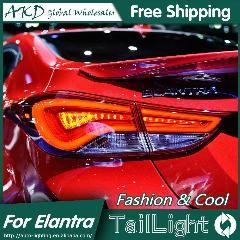[ $26 OFF ] Akd Car Styling For Hyundai Elantra Tail Lights Korea Design New Elantra Md Tail Light Rear Lamp Drl+Brake+Park+Signal