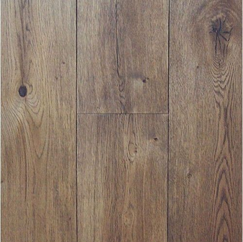 "7"" Wire Brushed Cognac White Oak - Engineered Hardwood - Floors by Type"
