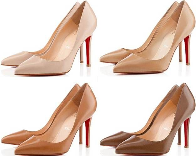 Louboutin: A NUDE SHOE COLLECTION FOR WOMEN OF ALL COMPLEXIONS