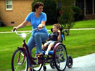 Wheelchair Bike Diy Special Needs Pinterest