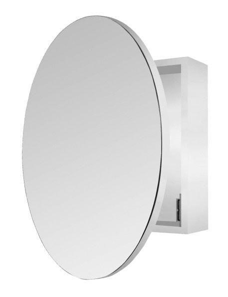 Web Image Gallery Bathroom Mirror Cabinet Single Door Round Bathroom Mirror Cabinet SHINE MIRRORS AUSTRALIA