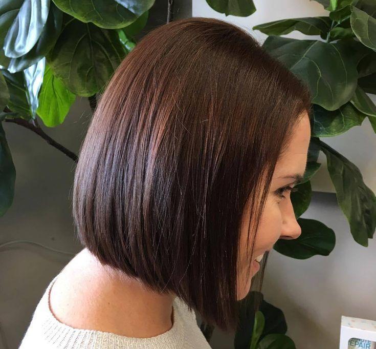 гранулированное каре на средние волосы фото