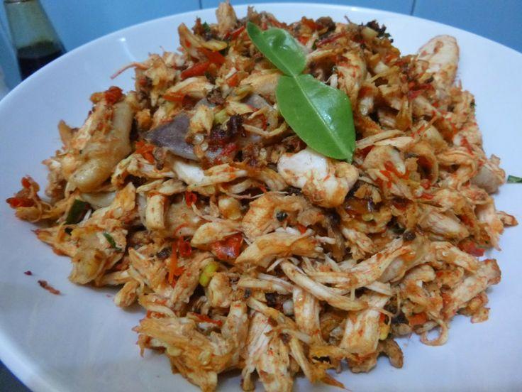 Masak Ala Mom Nayla: Ayam Suwir2 Lumayan Pedas:)