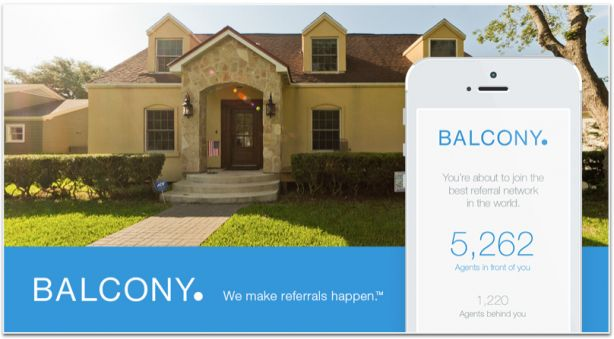 Balcony real estate referral app