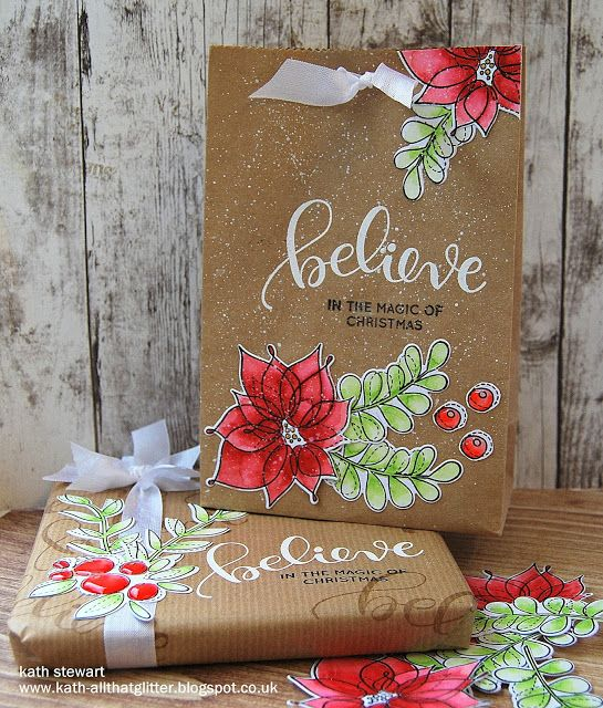 Customising Gift Bags and Gift Wrap by kathinwesthill - Cards and Paper Crafts at Splitcoaststampers