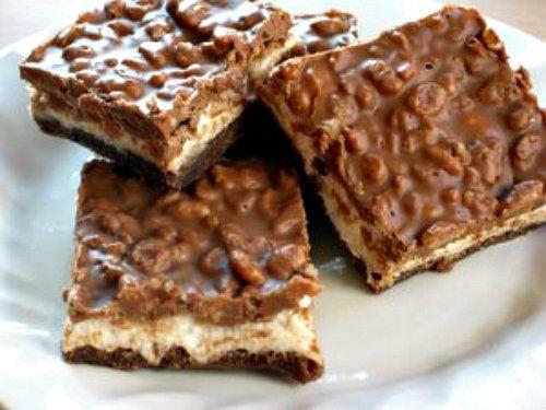 Royal Chocolate Marshmallow Bars #recipe