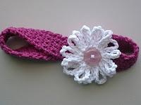 Daisy Headband: free pattern