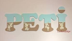 """Képtalálat a következőre: """"PETI betűk"""""""