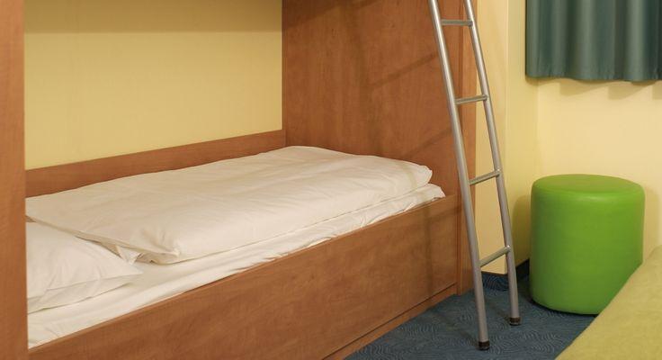 Familienzimmer für 4 Personen im B&B Hotel Erlangen