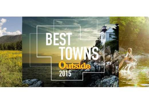 Chattanooga, TN | Friday, June 5, 2015 – After beating 63 great towns across the nation, Chattanooga proudly claims Outside magazine's prestigious 2015 Best Town Ever award. In order to be a contender