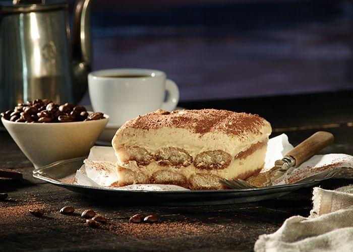 Revel in a delicious, classic Italian Tiramisu. Make it with your favourite Sponge Finger treat.