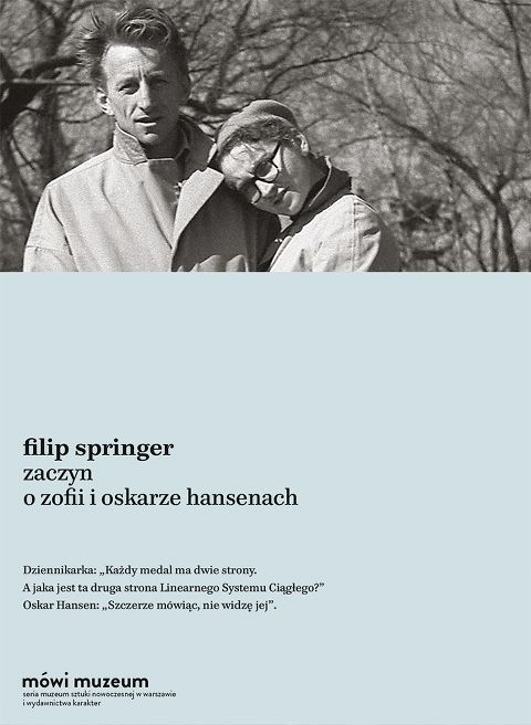 Oskar Hansen was one of the greatest architects of People's Republic Poland! We have just published a marvelous book - his biography by Filip Springer.