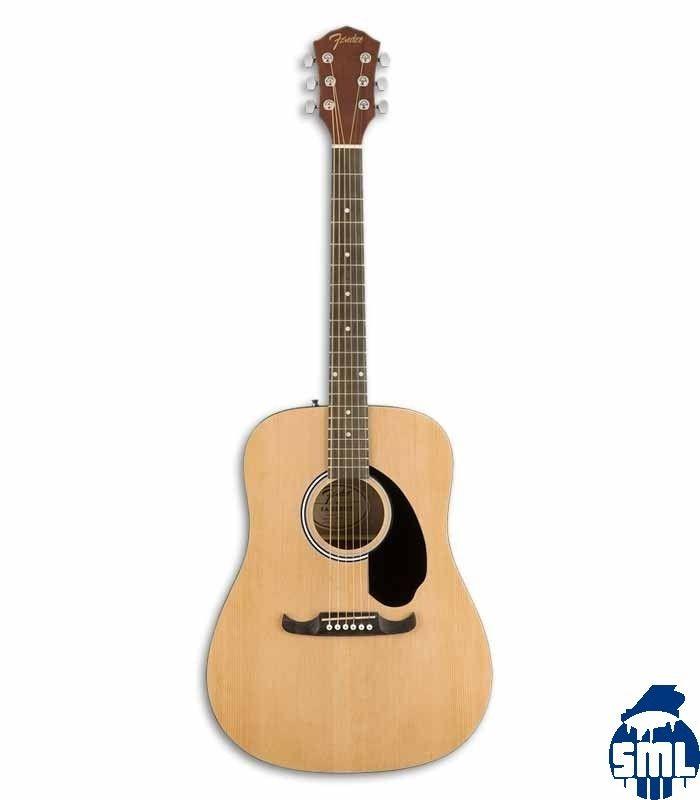Guitarra Folk Fender FA 125 Natural