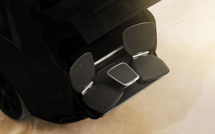 Rolls-Royce Cullinan's tailgate seats are perfect for watching the kid's soccer game    Rolls-Royce is almost ready to unveil its first-ever SUV—ahem, high-sided vehicle—and the automaker is clearly excited. After last week confirming the Cullinan name, Rolls-Royce on Wednesday revea   https://www.motorauthority.com/news/1115402_rolls-royce-cullinans-tailgate-seats-are-perfect-for-watching-the-kids-soccer-game
