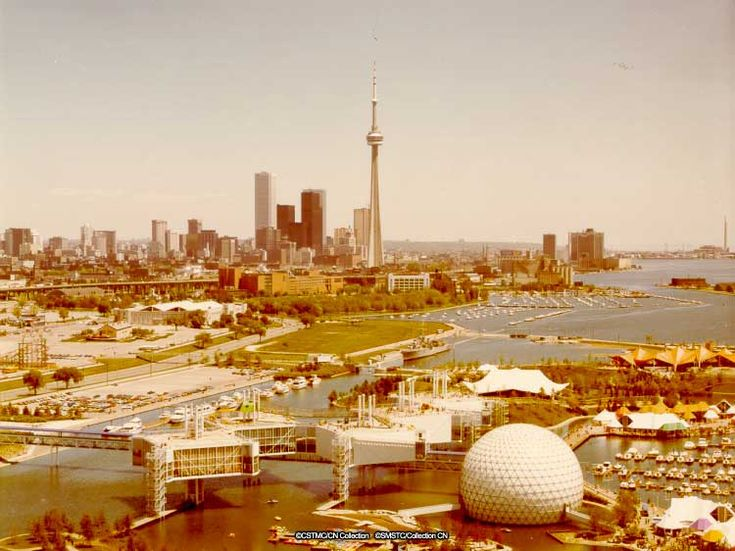 Old Pictures of Toronto - Skyline in the 80's