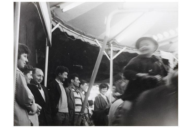 "poboh: "" Audience, 1950's, Robert Doisneau. """