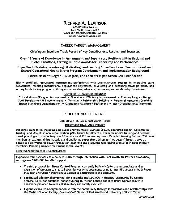 Military Veteran Resume Examples The Best Way To Write 7 S Resources Images On Format 2018 For